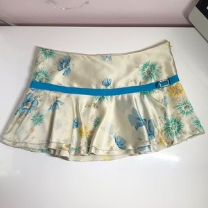 Abercrombie & Fitch 100% Silk Ruffled Skirt *2